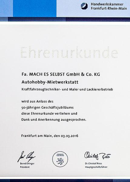 mach gmbh frankfurt